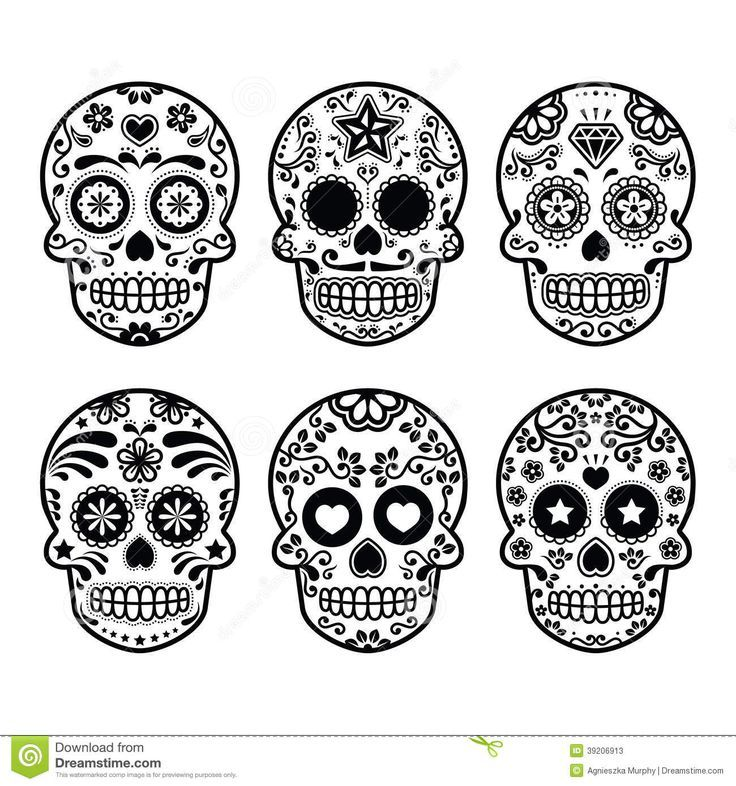 Image result for dia de los muertos skull | tattoo ideas | Pinterest ...