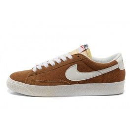 new products 8f3ed 17b99 Nike blazers low to help the color of camel s hair, a more lasting appeal,  the suede material, wearing more comfortable.