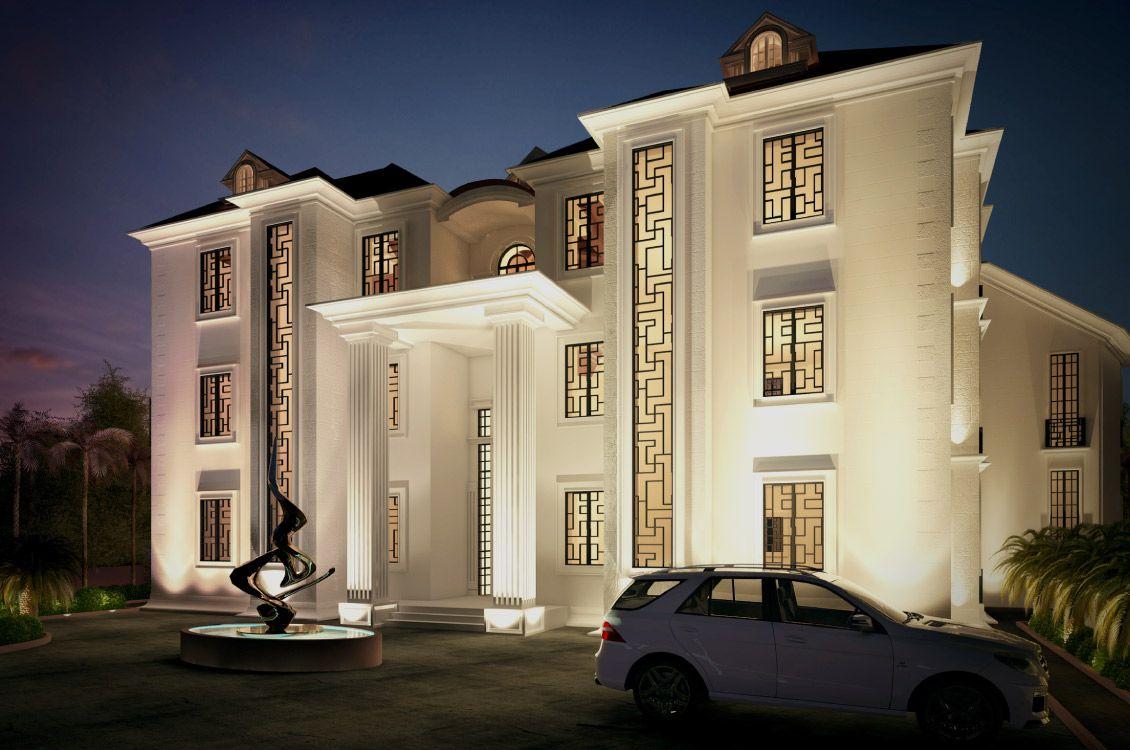Nigeria house window design  tao private villa u nigeria  dream house in   pinterest