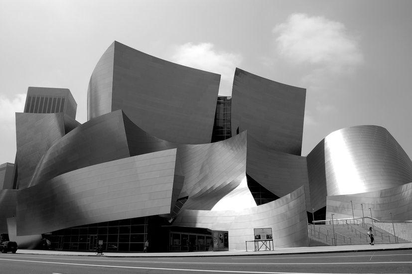 Walt Disney Music Hall Architecture Ad Architectural Digest Modern Architecture
