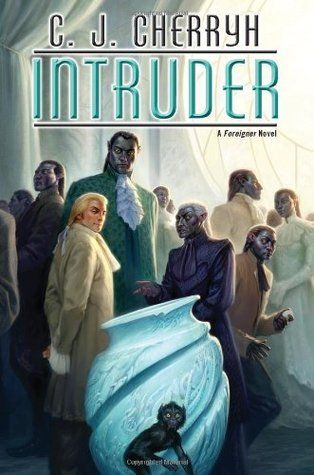 Todd Lockwood - art for Intruder (Foreigner 13) by C.J. Cherryh - 2013 Daw hardcover