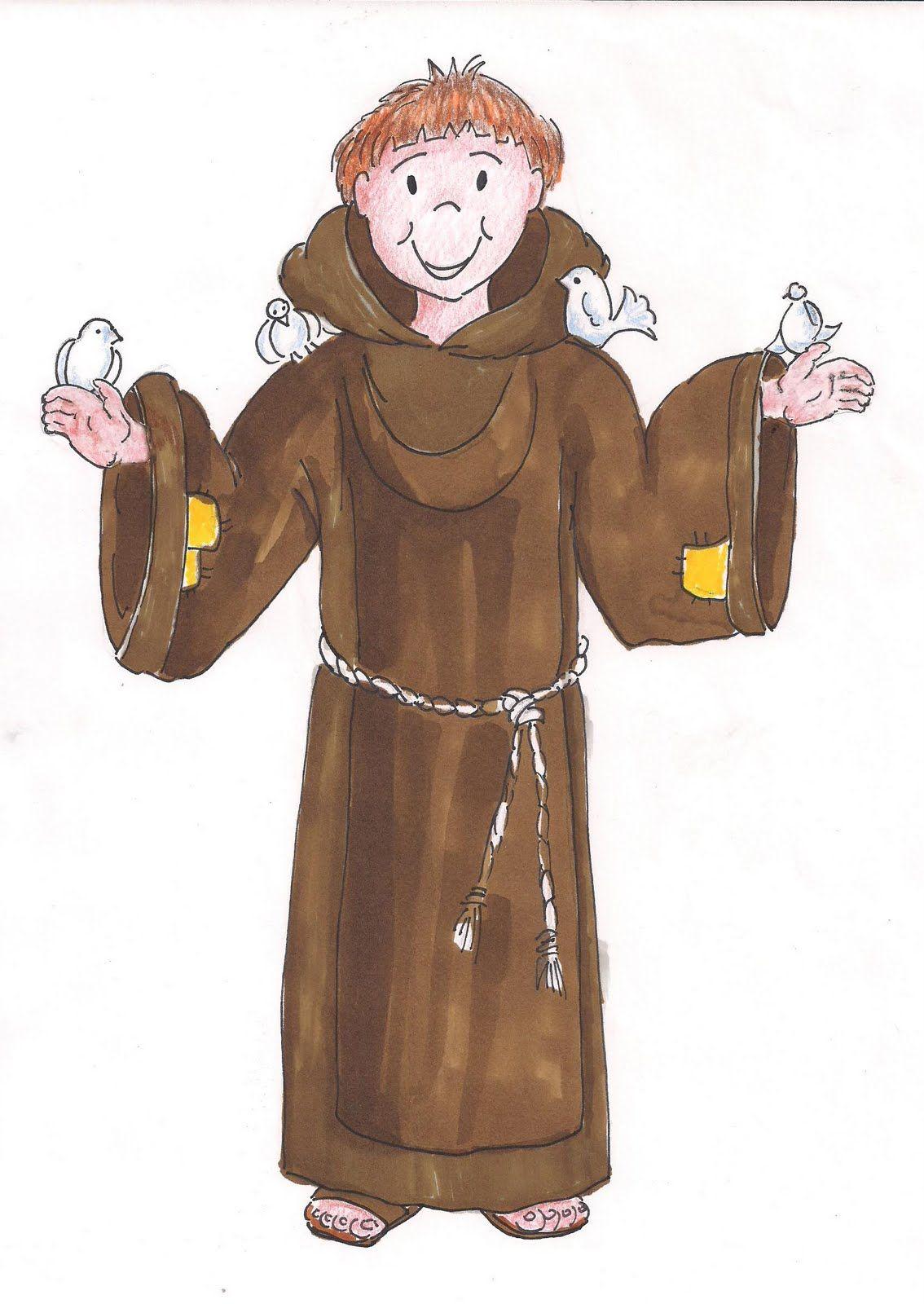 Resultat d\'imatges de dibujos para colorear de sant francisco d ...