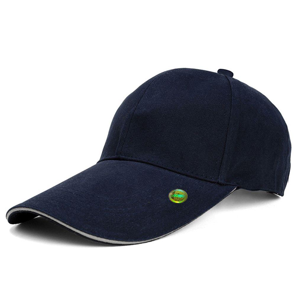Men Women Plain Color Super Extra Long Bill Baseball Cap Blue ... 83f941ded20