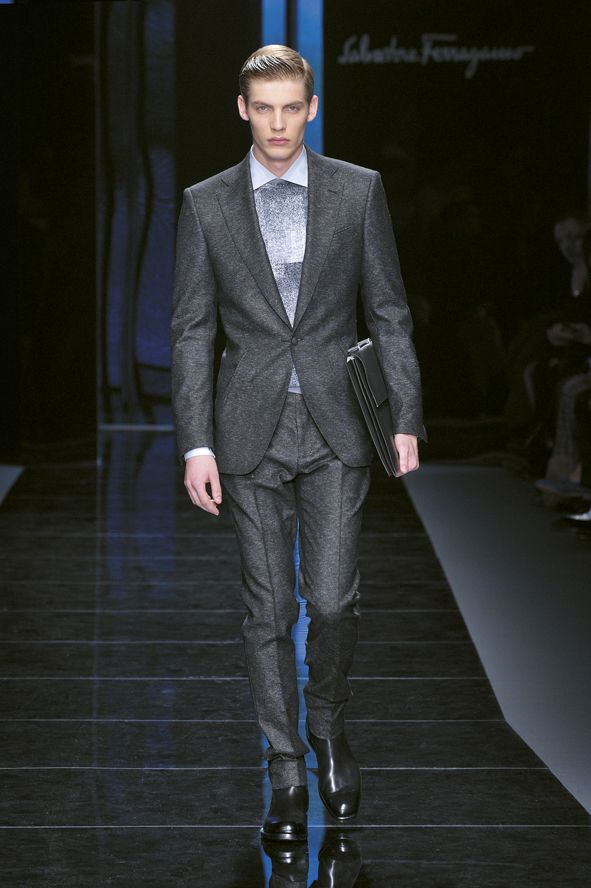 Look 9 Salvatore Ferragamo Men's AW Collection 2012-2013