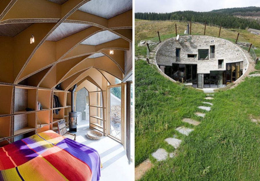 Beau Underground Home Designs   Swiss Mountain House Rocks. House Plan Is The  Collaboration Between The