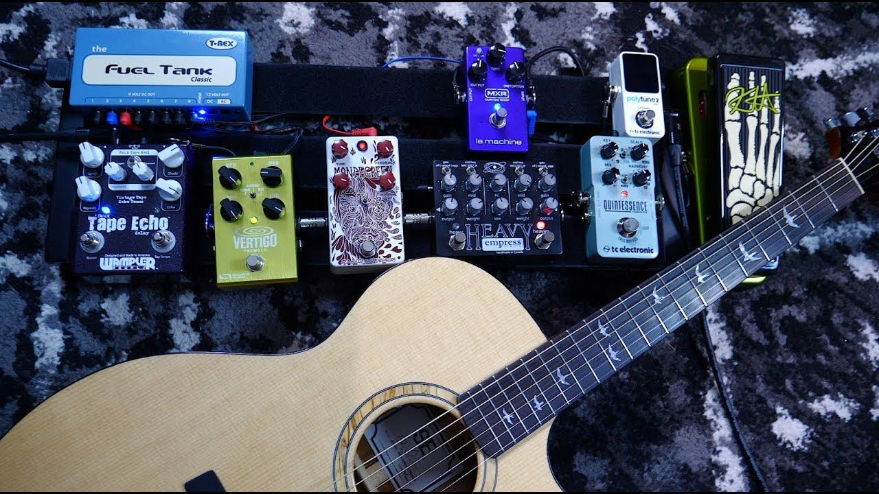 Do Electric Guitar Pedals Work On Acoustic Guitar Acoustic Guitar Guitar Pedals Classic Guitar