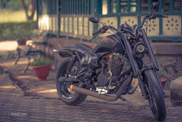 Modified Bajaj Avenger 200Ornithopter moto Design Nasik