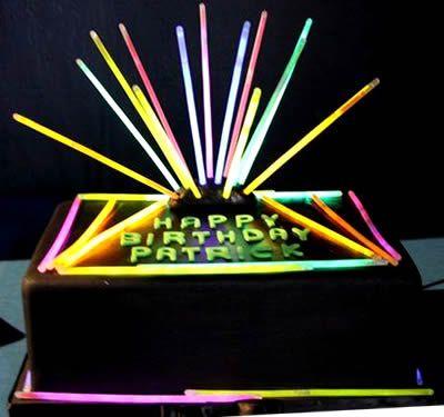 Glow Party Birthday Cake Use Glow Sticks s #2: ef9474f0dbd2f93a9bbdf6ffa7ab6b7c