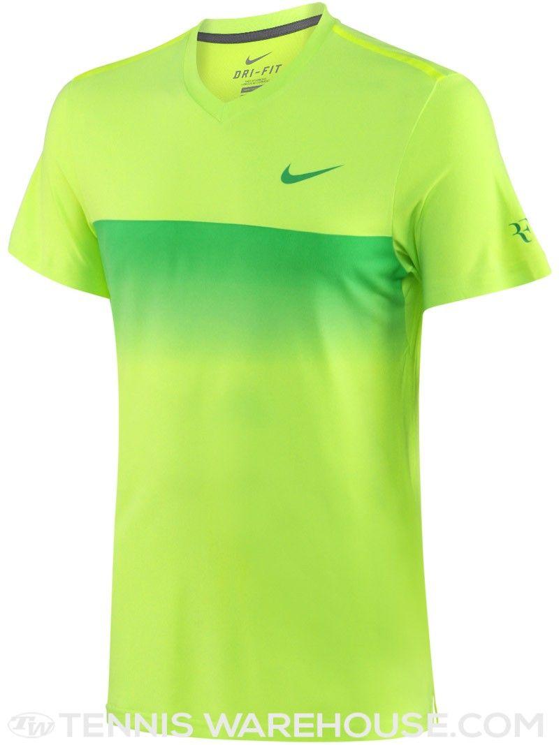 8006b72c1 Roupa Atlética · Camisas Esporticas · Nike Men s Spring Premier RF Tennis  Crew