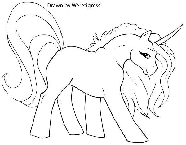 Einhorn Malvorlage Ausmalbilder Fur Kinder Unicorn Coloring Pages Horse Coloring Pages Bird Coloring Pages
