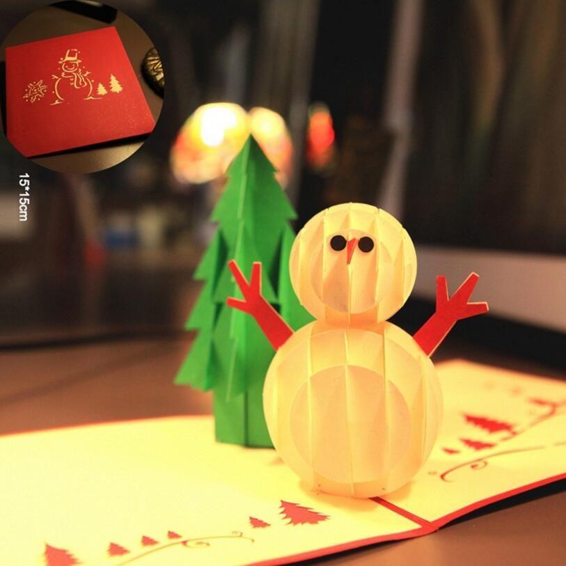 Folding greeting card christmas card santa claus greeting card 3d folding greeting card christmas card santa claus greeting card 3d laser cutting popular paper hand custom m4hsunfo