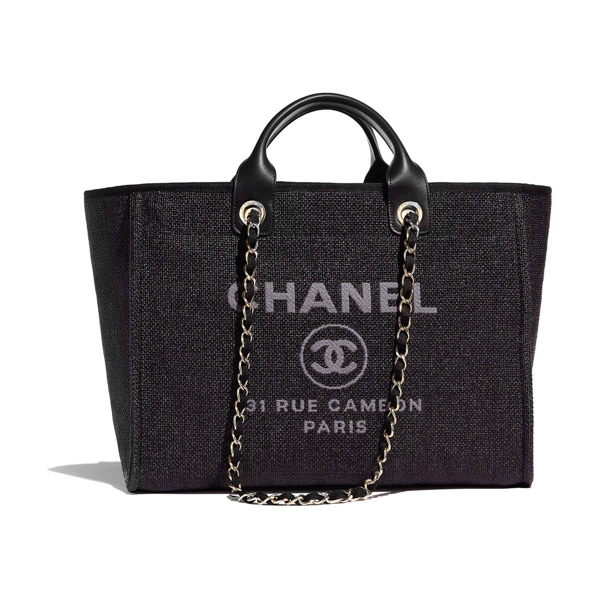 d66fe238922a94 Chanel-Cruise-2019-16: CHANEL SHOPPING BAG (Deauville) $3,000 | BAGS ...