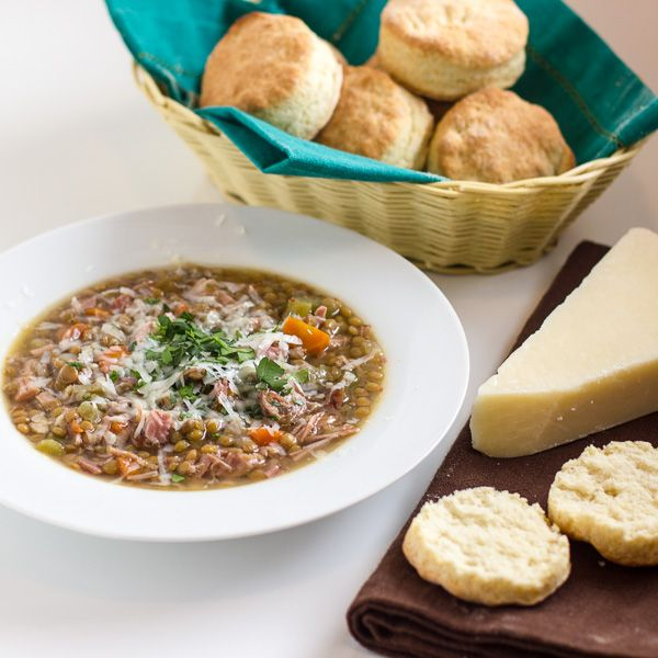 Crockpot Smoked Turkey And Lentil Soup Healthy Easy