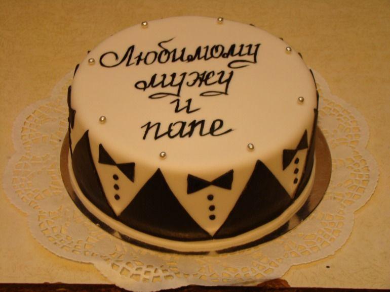 оформление тортов фото для мужчин