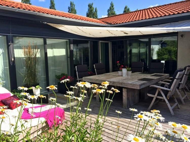 Moderne Terrassenüberdachung – 60 verschiedene Ideen im ...