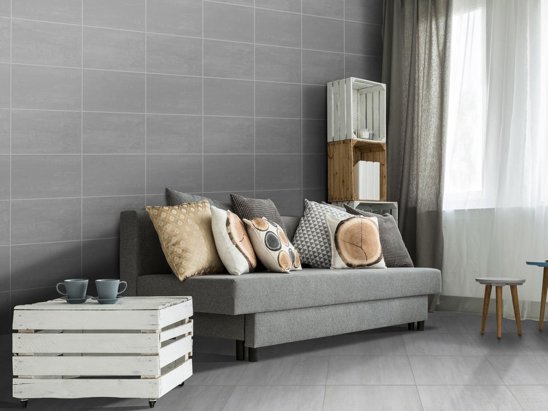 Dubrovnik Grey 400 X 250 Mm Matt Finish Ceramic Wall Tile