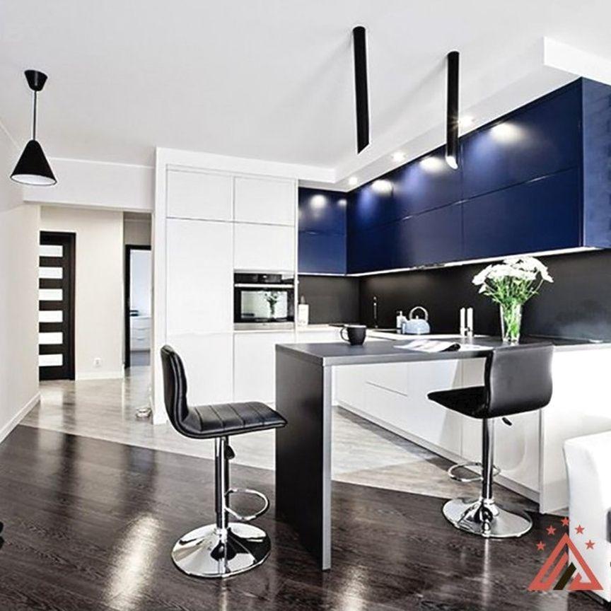 Проект разработан для квартиры студии.😎 Цвет кухни ...