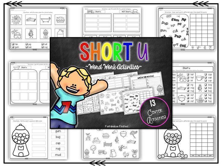 Short u word work