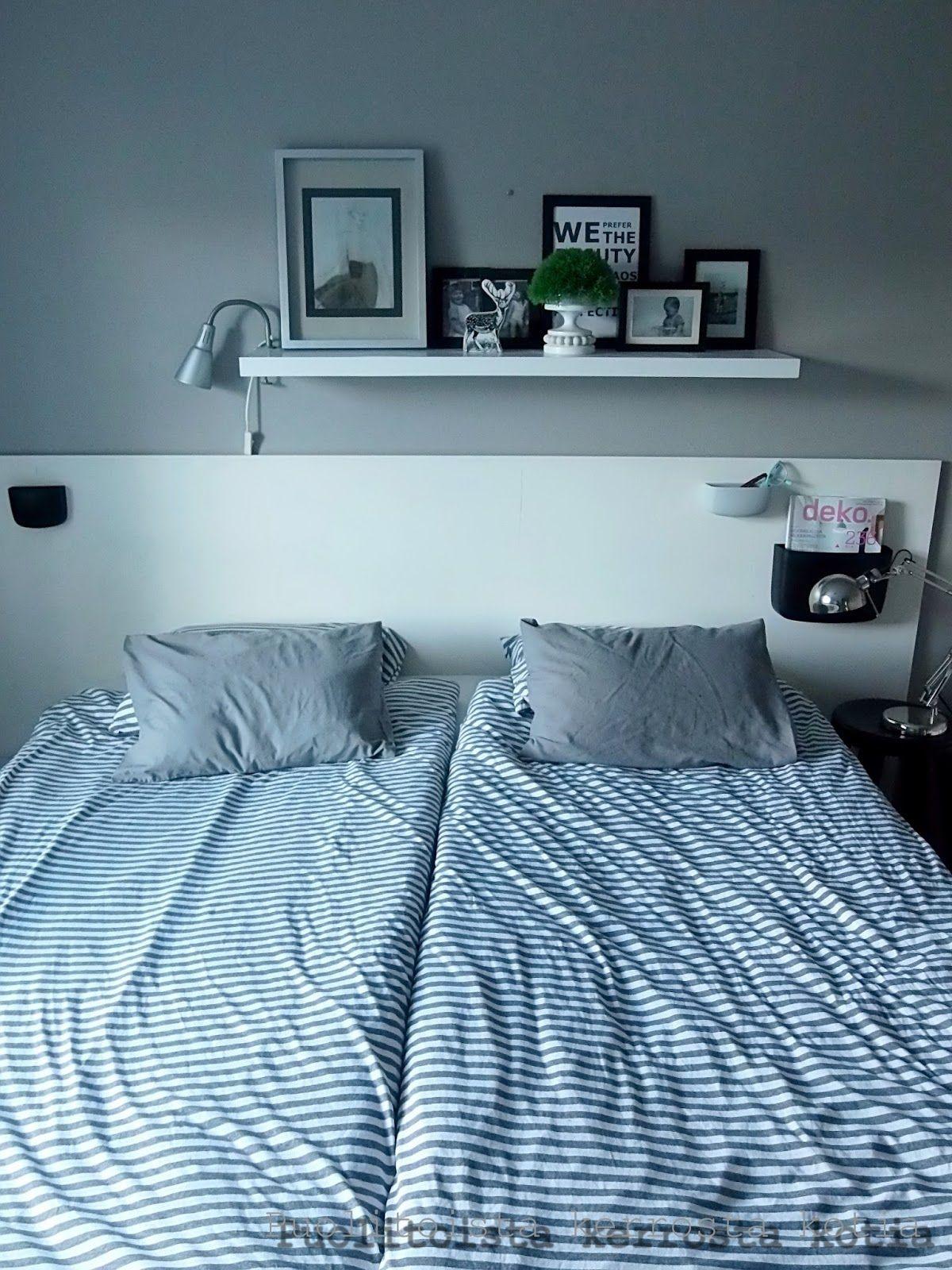 Puolitoista kerrosta kotia: DIY Sängynpääty