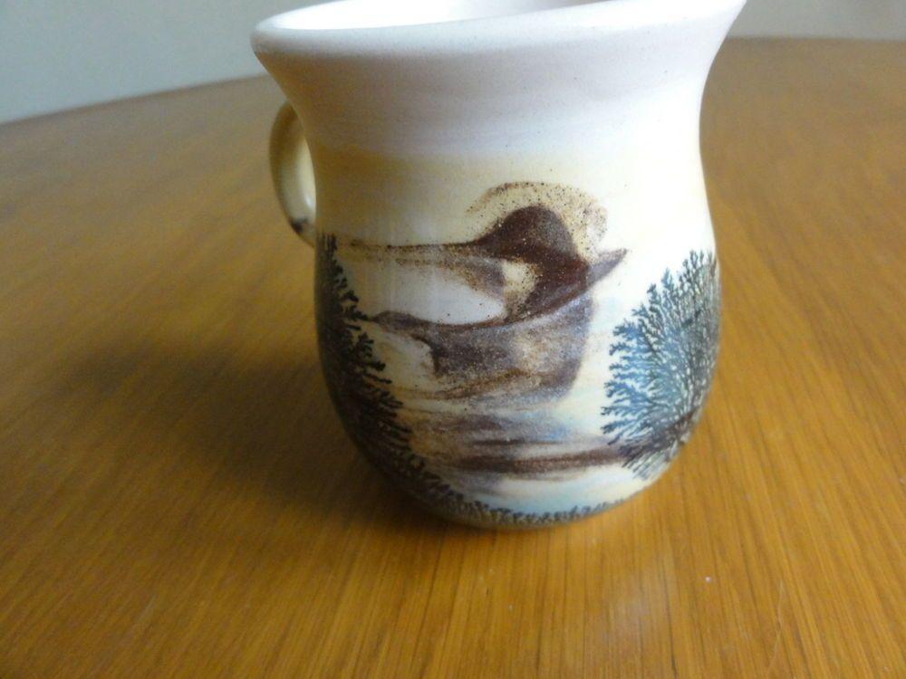 Hand made coffee mug cup in Cornwall England