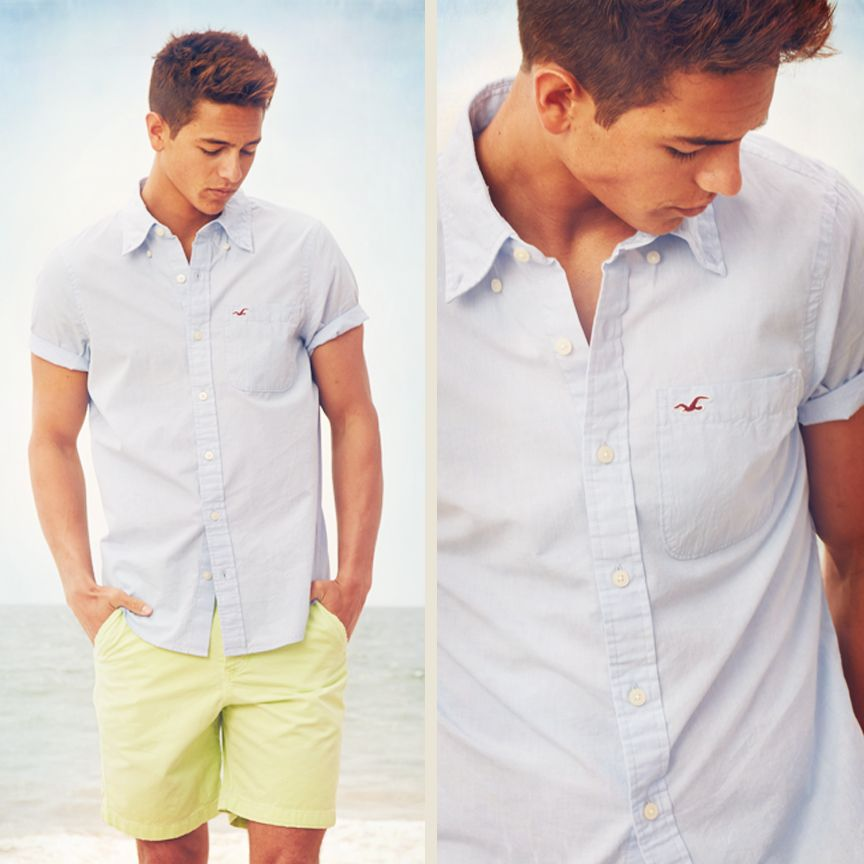 What to wear at hollister interview male