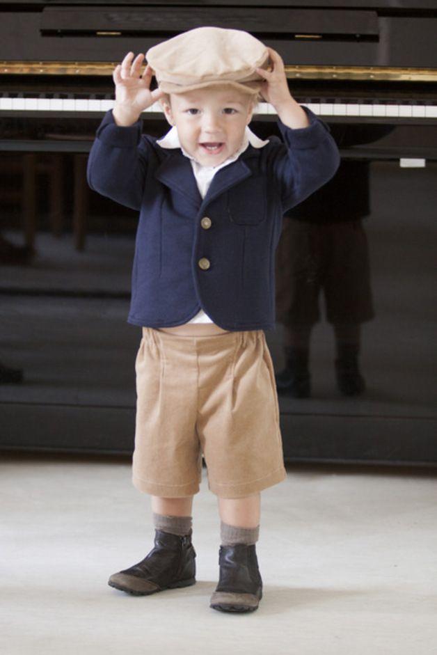 festmode jungen baby sweatblazer hochzeit taufe blazer ein designerst ck von mimiikids. Black Bedroom Furniture Sets. Home Design Ideas
