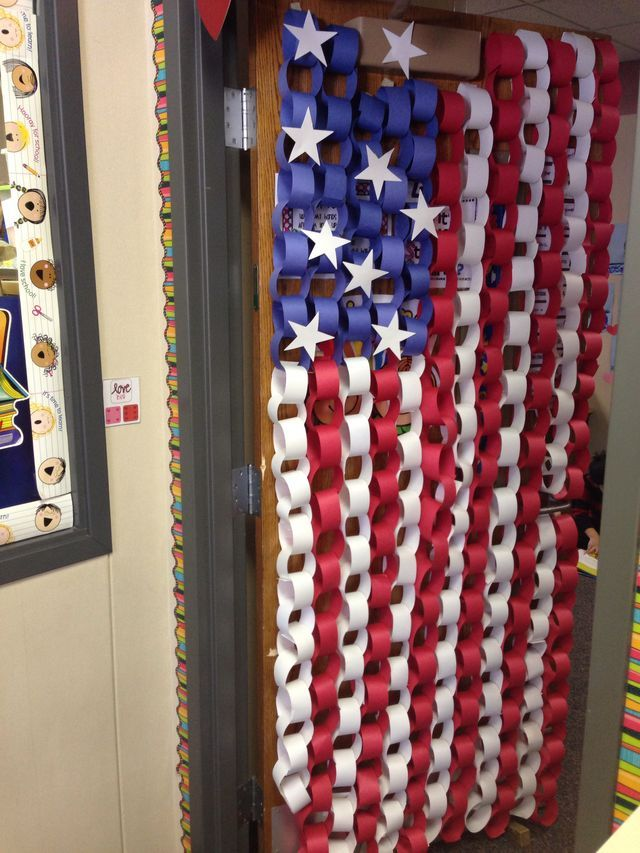 B5ecdd86bcc761e5b9ffac2a8242931d Jpg 640 215 853 Pixels 4th Of July Decorations Paper Chains