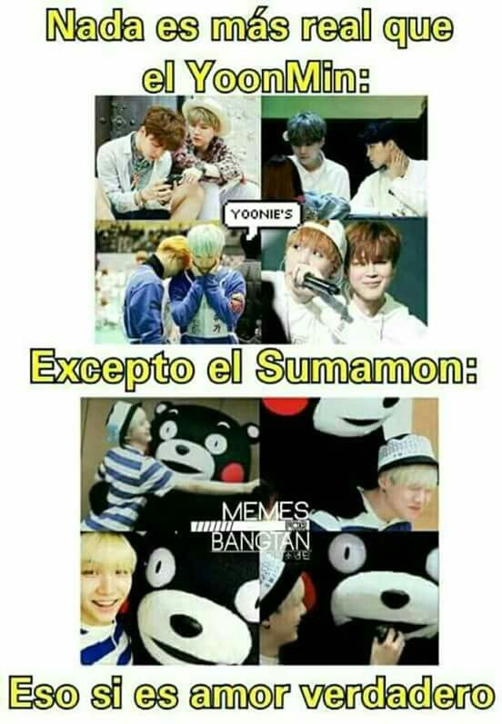 Eso Si Es Un Amor Real Memes Yoonmin Memes Divertidos