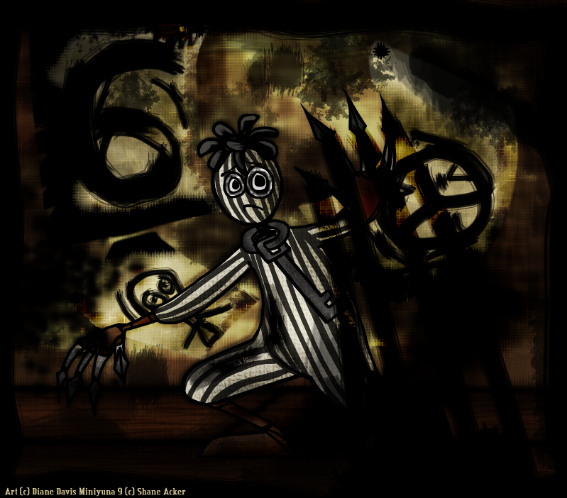 6: Paint it Black by Miniyuna