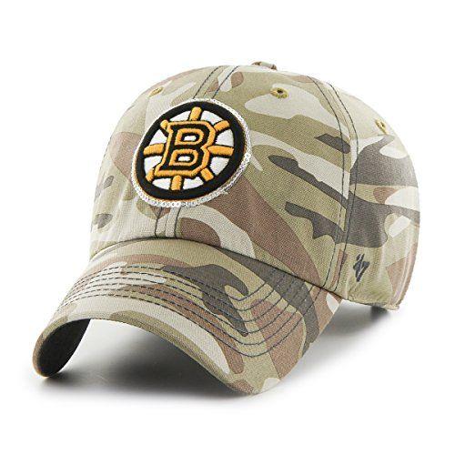 new style ebf11 9b95e Boston Bruins Camo Hat