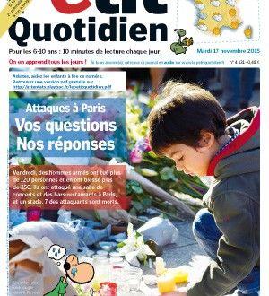 Le petit Quotidien aide les parents à parler des attentats du 13 Novembre aux enfants - Drôles de mums