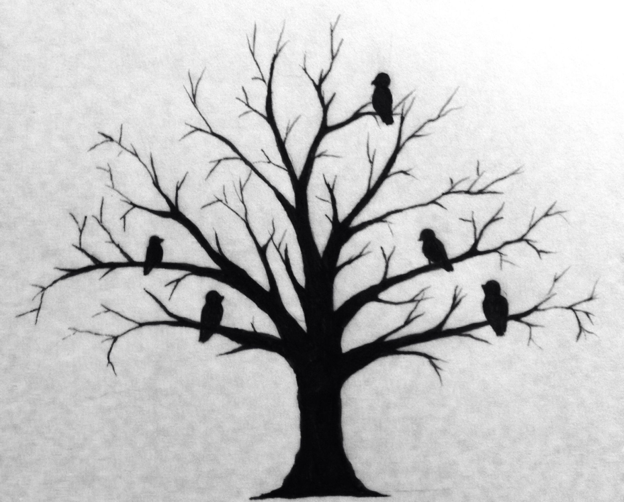 Family tree tattoo each bird is a family member the for Family of birds tattoo