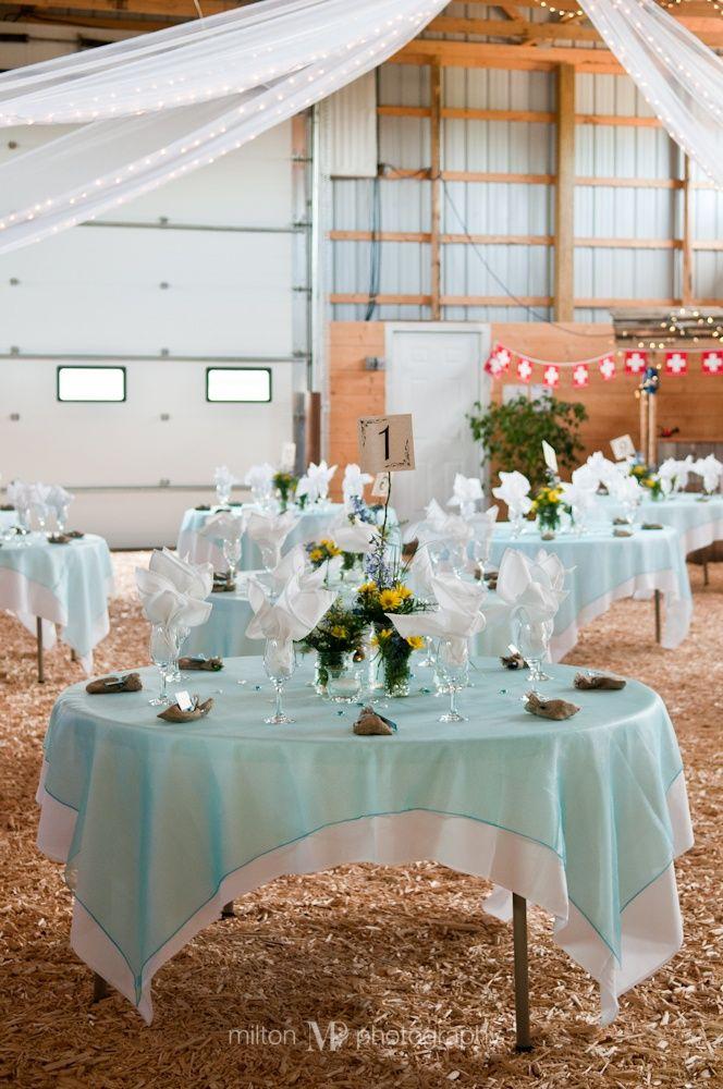 Barn Wedding Reception Decoration Ideas