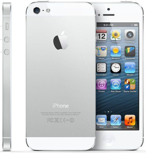 """Apple iPhone 5, White, 16GB. PRICE: 359.89 (FREE Delivery).  EVERYTHING is CRISP & LIFELIKE. Text is razor SHARP. Colours are VIBRANT. Photos & videos are RICH with DETAIL.  """"GREAT"""" – By Yazmitaz. MORE via: http://www.sd4shila.net/uk-visitors OR http://sd4shila.creativesolutionstore.com/inter-links.html  OR http://sd4shila.creativesolutionstore.com OR http://www.sd4shila.net  OR http://astore.amazon.co.uk/onestoponlish-21?node=6&page=42"""