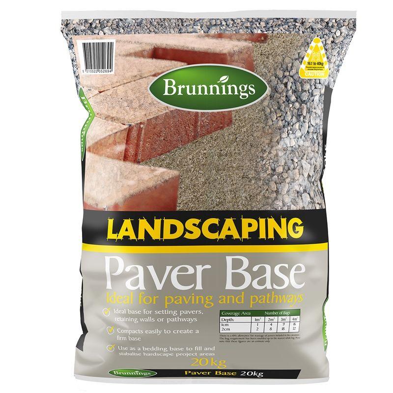 Brunnings 20kg Landscape Paver Base Bunnings Warehouse