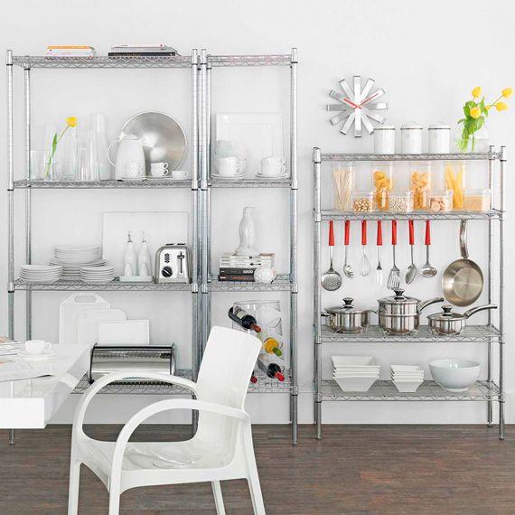 Dur Estante 46x184 Tok Stok Little Kitchen Estante Aco