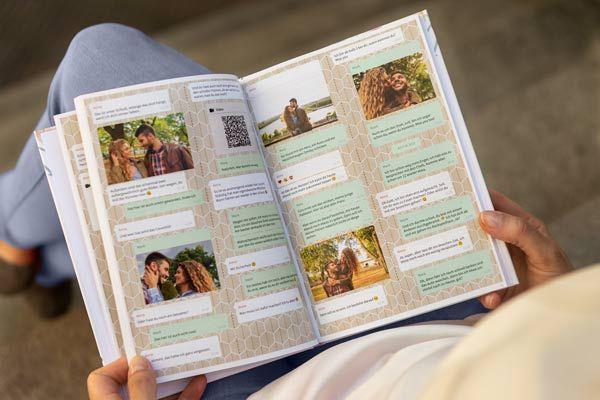 Dein Whatsapp Chat Als Buch Oder Pdf Regalos Manuales Novio Regalos Pareja Regalos Bonitos Para Mi Novio