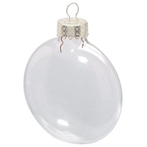 Creative Hobbies Clear Plastic Ornament Discs 100mm 3 94 Diameter Pack Of 12 Great For Craf Floating Ornaments Clear Glass Ornaments Christmas Ornaments
