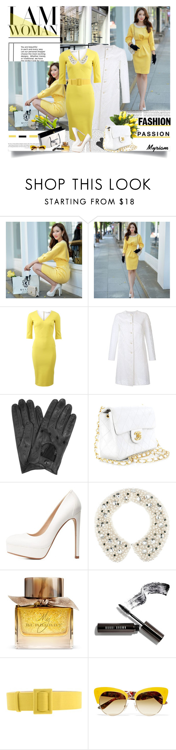 """""""fashion"""" by lovemeforthelife-myriam ❤ liked on Polyvore featuring Oris, Dabuwawa, Victoria Beckham, HUISHAN ZHANG, Forzieri, Chanel, ANNA, Charlotte Russe, H&M and Burberry"""