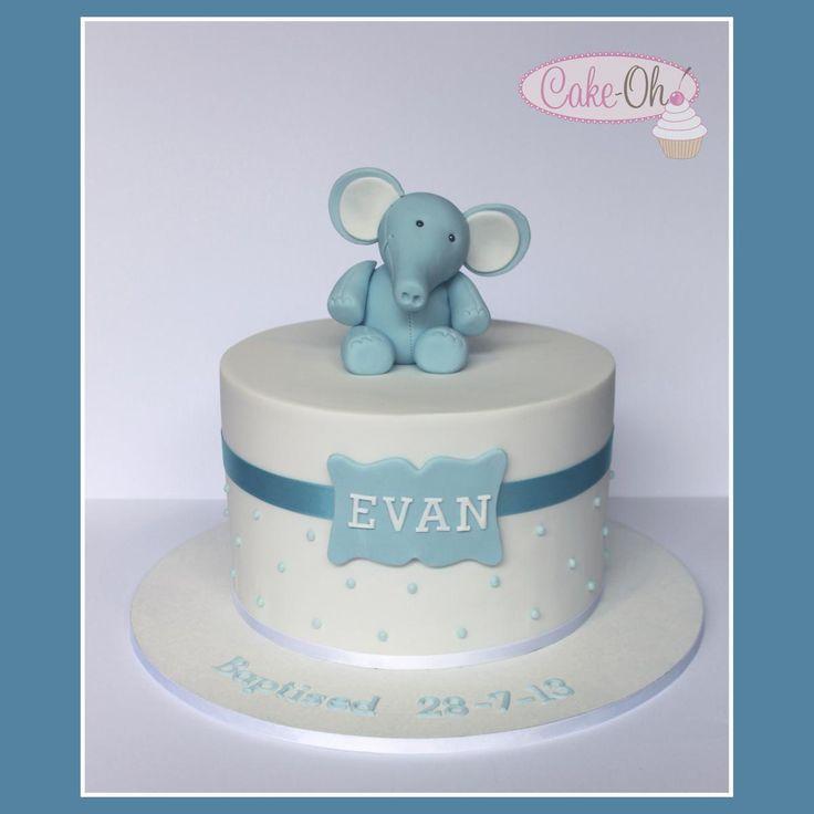 Christening Cake Design Boy : Boy s Baptism Cake http://www.cake-oh.com.au Cakes for ...