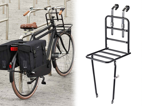 BASIL Front-Carrier L | BIKES-cycle~chic~ness | Pinterest | Bike ...