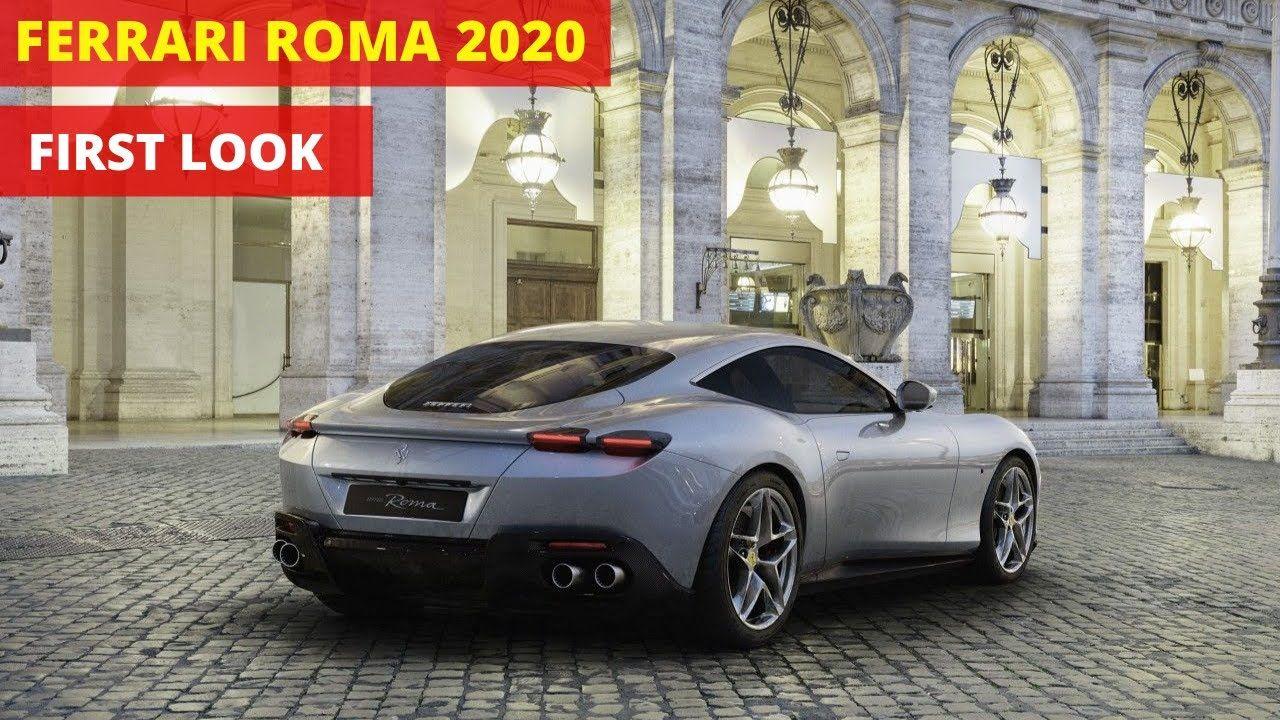 Ferrari Roma First Look Interior And Exterior Ferrari New