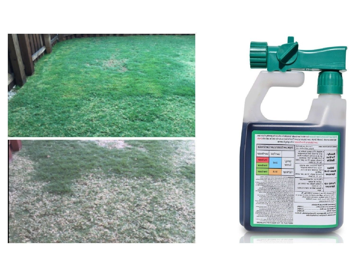 Grass Seed Lawn Care Intense Booster Natural Seed Spray Growing Seeding Simply Grass Seed Lawn Care Grass