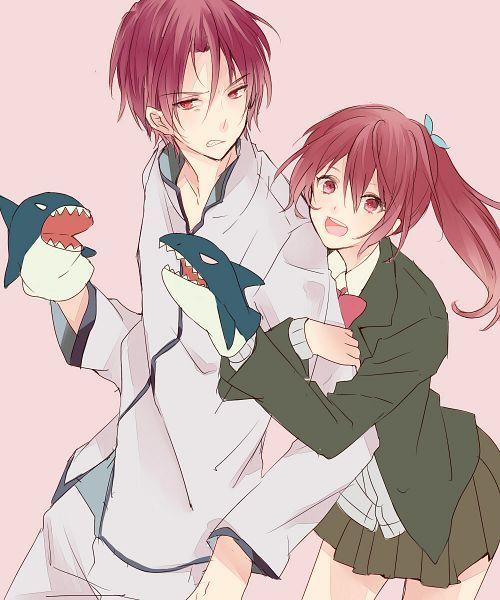 Matsuoka Rin & Gou   Free!   Anime