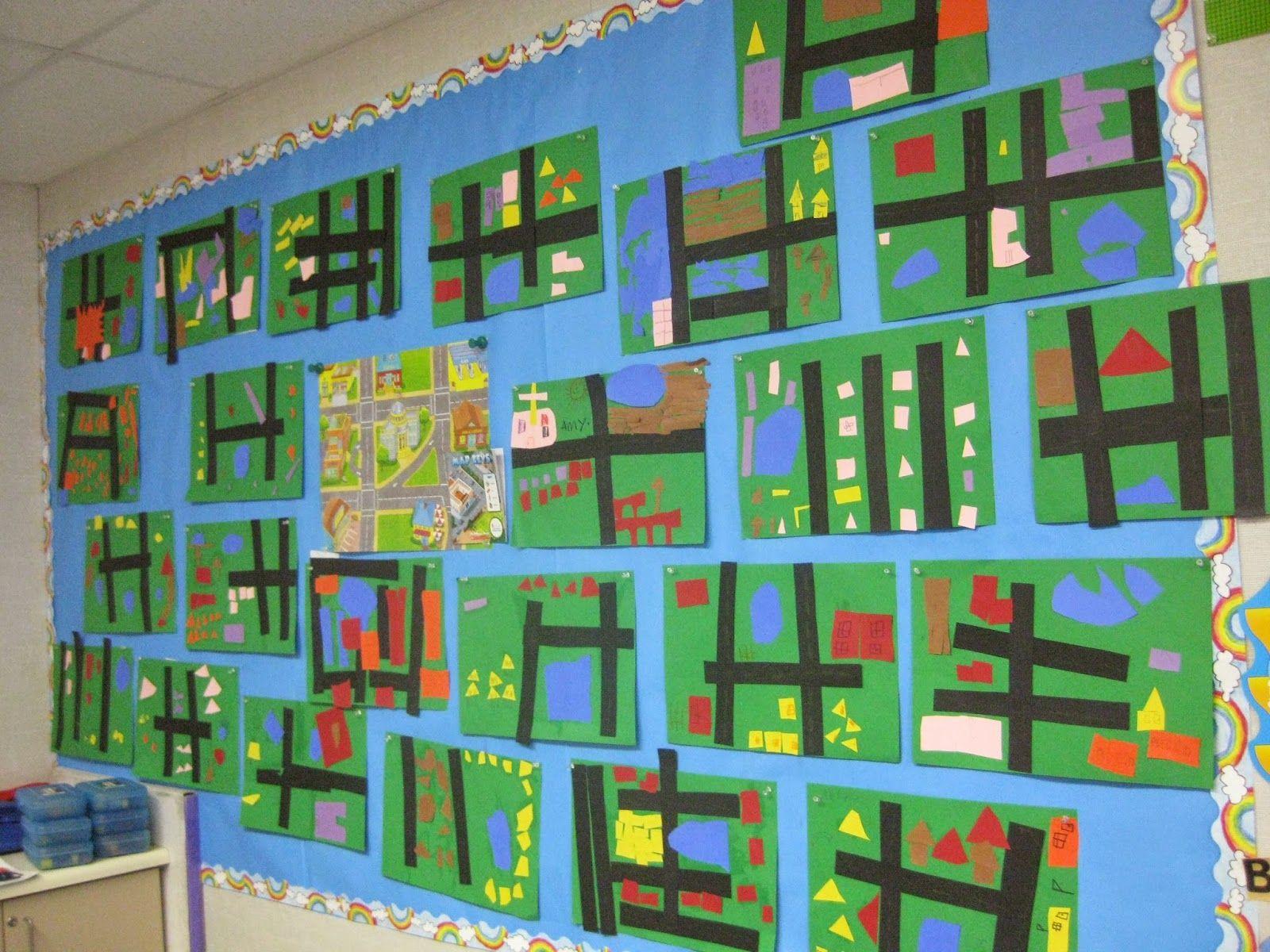 Scrapbook ideas kindergarten - My Blog Social Studies In Maps And Communities A Clear Explanation Of A My Community Activitiesmy Community Kindergartenmap