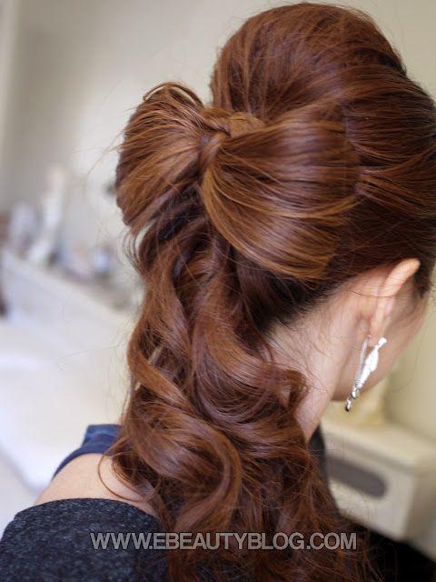 Beautiful Wedding Hair Bow Tutorial Beautiful Wedding Hair