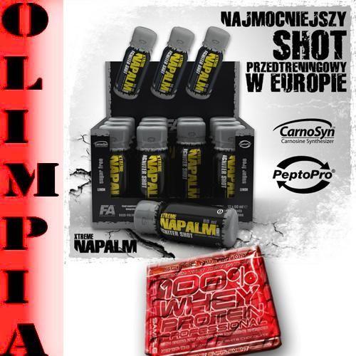 Fa Napalm Shot 12szt Przed Treningiem Probka 4735540506 Oficjalne Archiwum Allegro Hair Straightener Shots Beauty