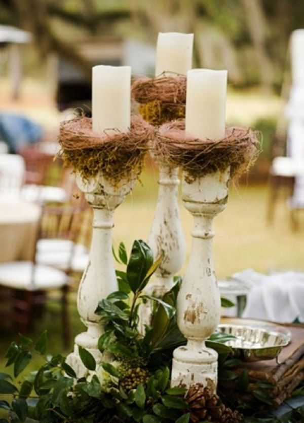 25 Fabulous Wedding Centerpieces Without Flowers Wedding