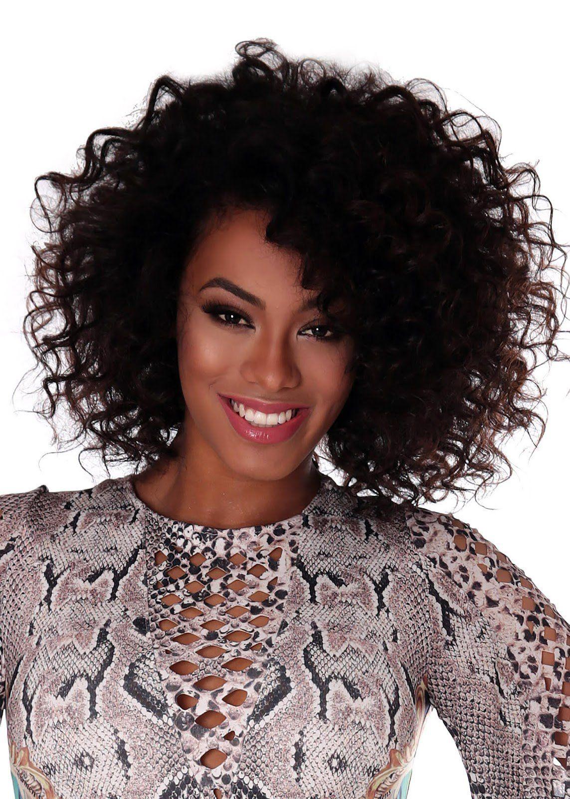 Raissaoliveirasantana mulher brasileira pinterest curly