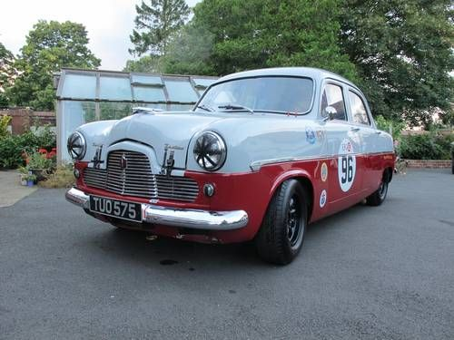 Ford Zephyr Zodiac Mk1 Goodwood Race Car For Sale 1956 Ford